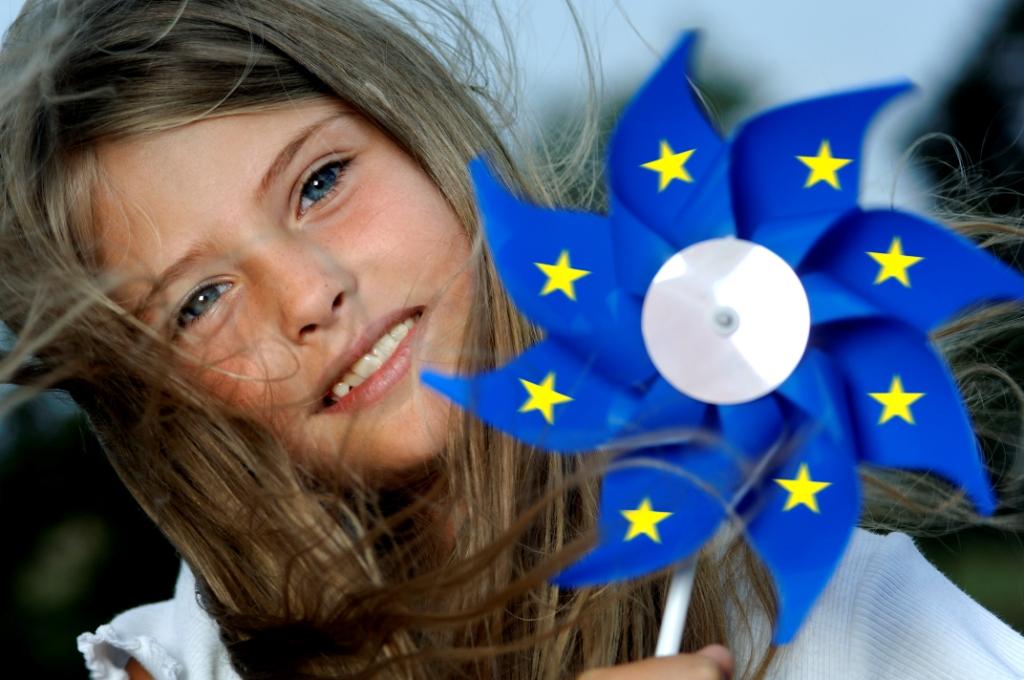 Фото европейки